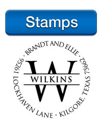 Personalized Stamps at StationeryXpress, brought to you by Three Designing Women