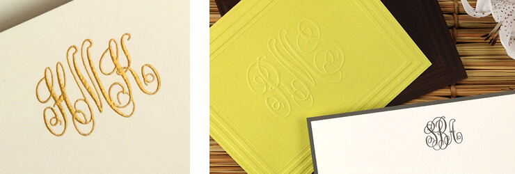 Stationery Initials & Monograms at StationeryXpress